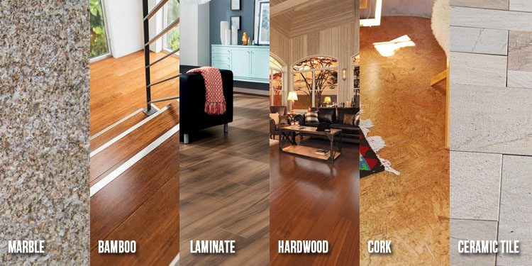 Types Of Flooring For Your Home Or