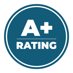 a-plus-rating-badge